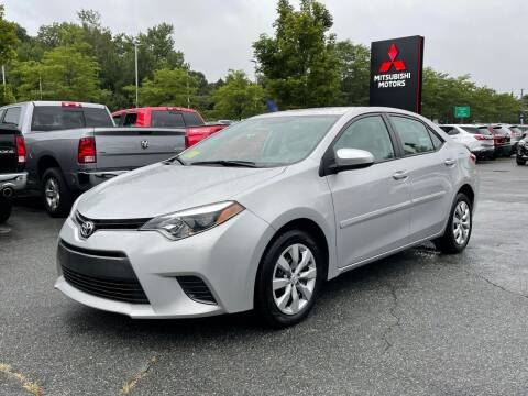 2016 Toyota Corolla for sale at Midstate Auto Group in Auburn MA