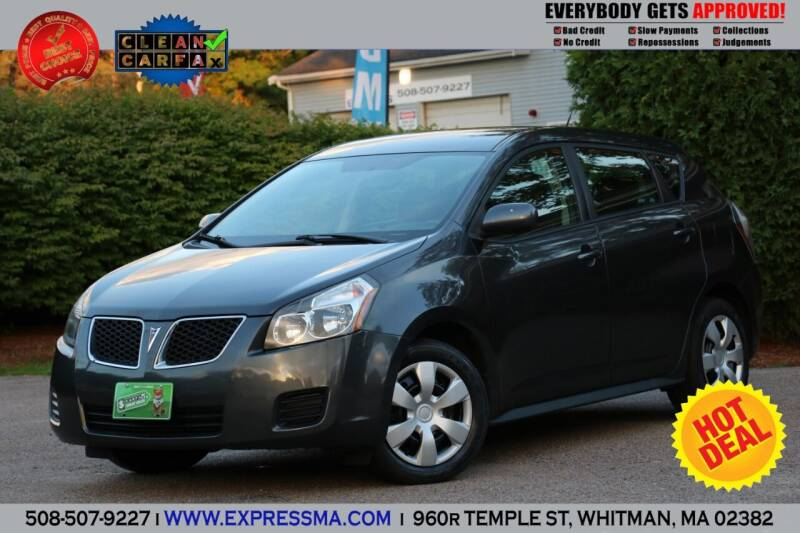 2009 Pontiac Vibe for sale at Auto Sales Express in Whitman MA