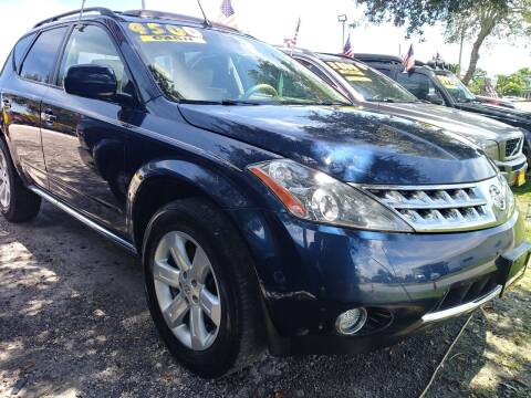 2007 Nissan Murano for sale at AFFORDABLE AUTO SALES OF STUART in Stuart FL