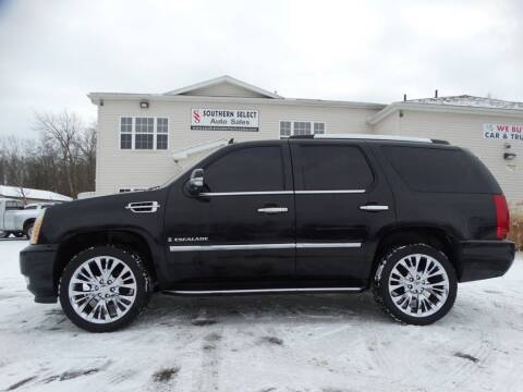 2007 Cadillac Escalade for sale at SOUTHERN SELECT AUTO SALES in Medina OH