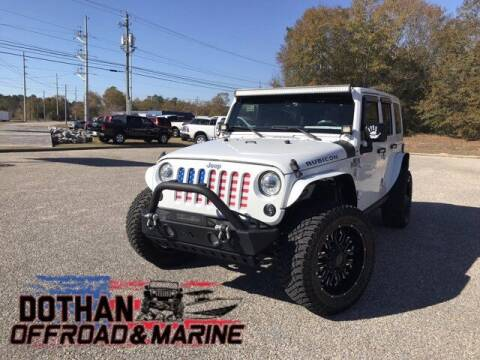 2018 Jeep Wrangler JK Unlimited for sale at Dothan OffRoad And Marine in Dothan AL