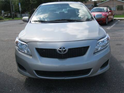 2010 Toyota Corolla for sale at PARK AUTOPLAZA in Pinellas Park FL