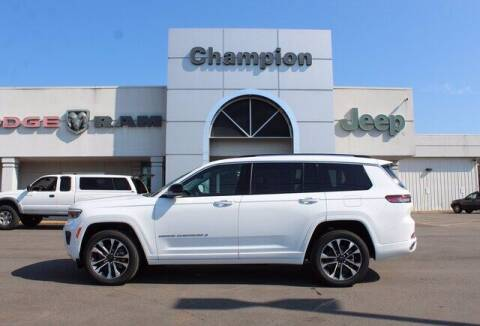 2021 Jeep Grand Cherokee L for sale at Champion Chevrolet in Athens AL