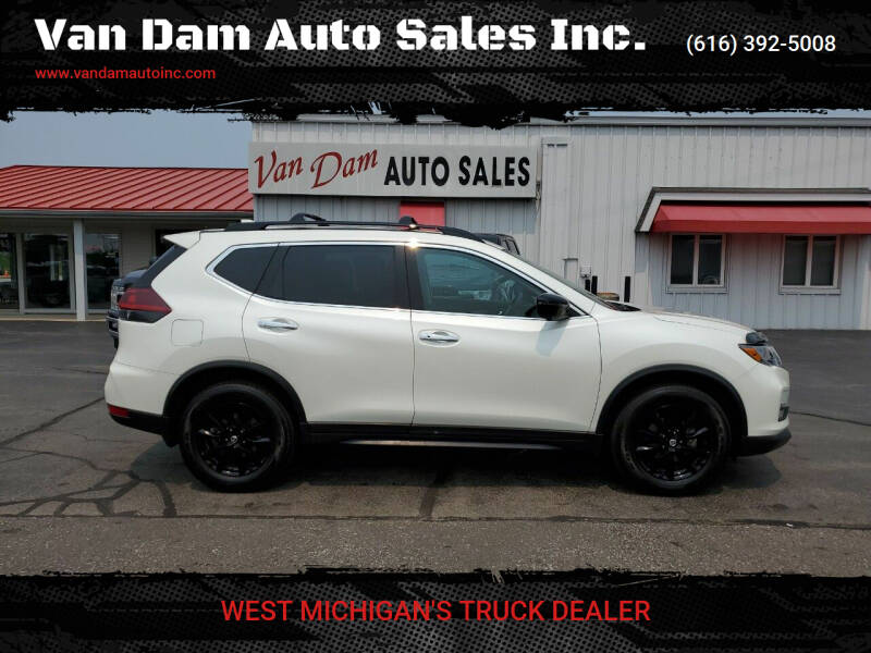 2018 Nissan Rogue for sale at Van Dam Auto Sales Inc. in Holland MI