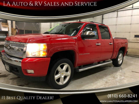 2007 Chevrolet Silverado 1500 for sale at LA Auto & RV Sales and Service in Lapeer MI