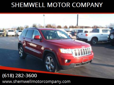 2011 Jeep Grand Cherokee for sale at SHEMWELL MOTOR COMPANY in Red Bud IL
