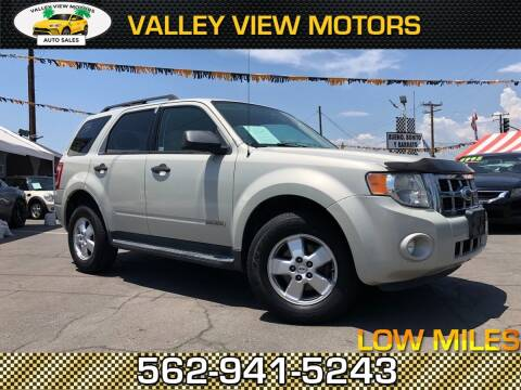 2008 Ford Escape for sale at Valley View Motors in Whittier CA