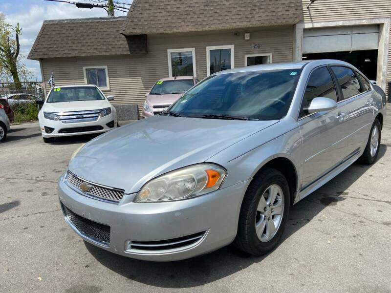 2012 Chevrolet Impala for sale at Global Auto Finance & Lease INC in Maywood IL