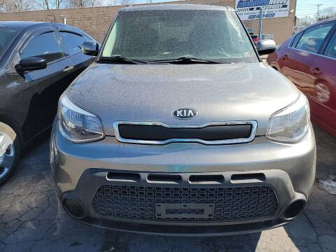 2015 Kia Soul for sale at JORDAN AUTO SALES in Youngstown OH