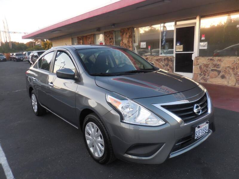 2018 Nissan Versa for sale at Auto 4 Less in Fremont CA