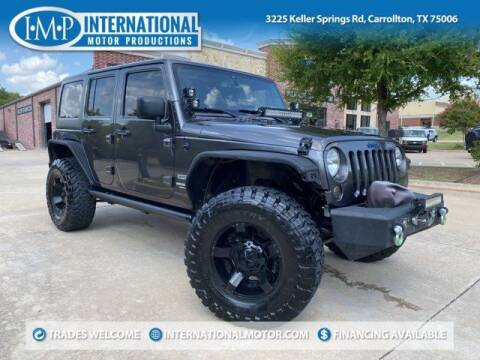 2014 Jeep Wrangler Unlimited for sale at International Motor Productions in Carrollton TX