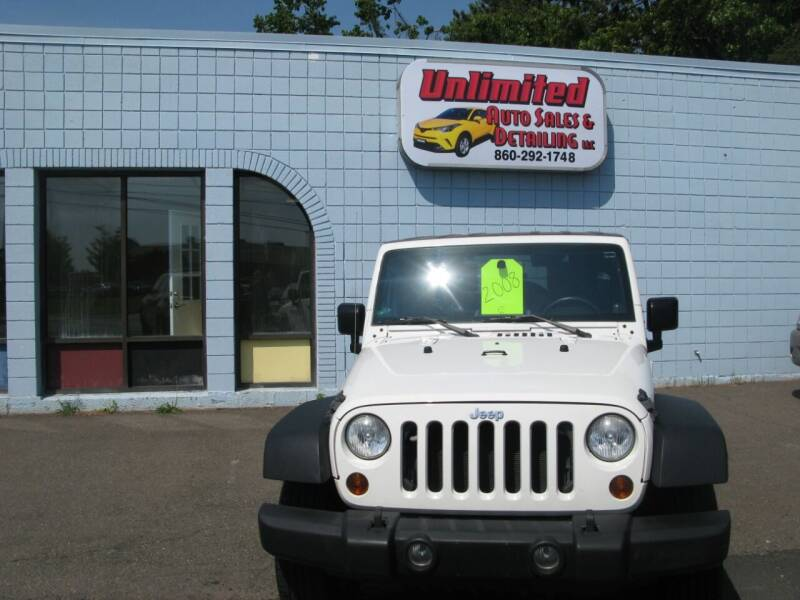 2008 Jeep Wrangler Unlimited for sale at Unlimited Auto Sales & Detailing, LLC in Windsor Locks CT
