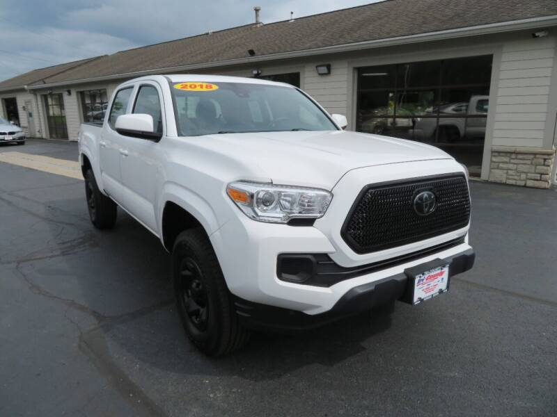 2018 Toyota Tacoma for sale at Tri-County Pre-Owned Superstore in Reynoldsburg OH