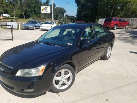 2007 Hyundai Sonata for sale at Best 4 Less Auto Center in Opelika AL