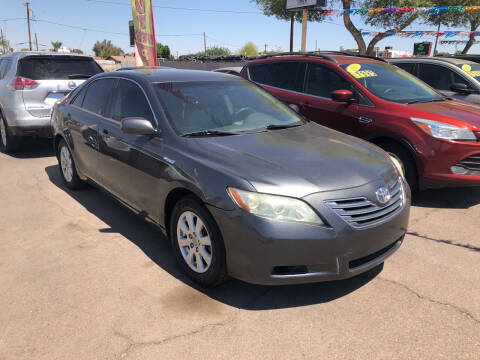 2007 Toyota Camry Hybrid for sale at Valley Auto Center in Phoenix AZ
