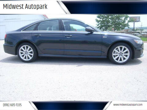 2016 Audi A6 for sale at Midwest Autopark in Kansas City MO