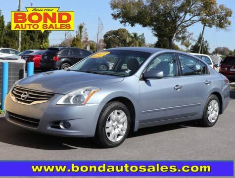 2012 Nissan Altima for sale at Bond Auto Sales in St Petersburg FL