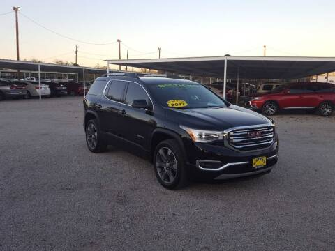 2017 GMC Acadia for sale at Bostick's Auto & Truck Sales in Brownwood TX