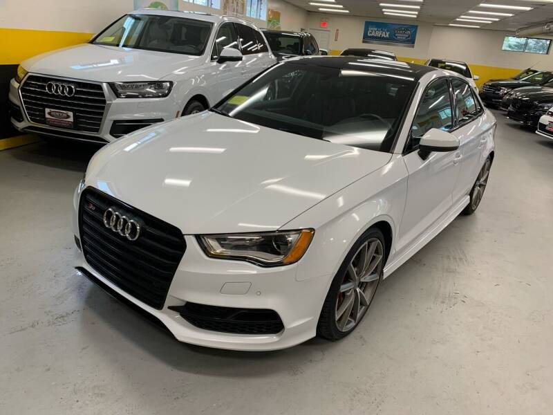 2016 Audi S3 for sale at Newton Automotive and Sales in Newton MA