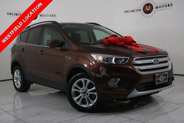 2018 Ford Escape for sale at INDY'S UNLIMITED MOTORS - UNLIMITED MOTORS in Westfield IN
