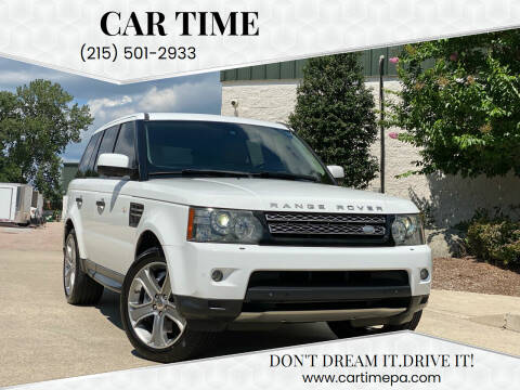 2011 Land Rover Range Rover Sport for sale at Car Time in Philadelphia PA