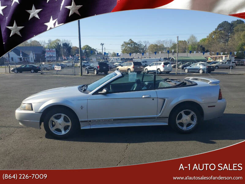 2001 Ford Mustang for sale at A-1 Auto Sales in Anderson SC