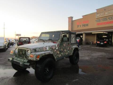 2006 Jeep Wrangler for sale at Import Motors in Bethany OK