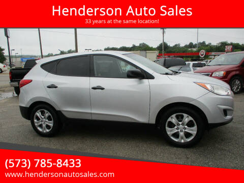 2013 Hyundai Tucson for sale at Henderson Auto Sales in Poplar Bluff MO