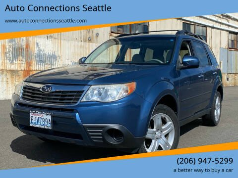 2009 Subaru Forester for sale at Auto Connections Seattle in Seattle WA