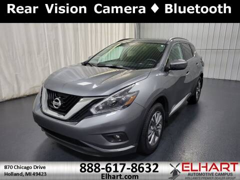 2018 Nissan Murano for sale at Elhart Automotive Campus in Holland MI