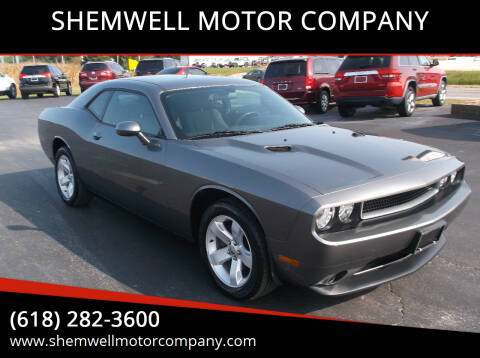 2011 Dodge Challenger for sale at SHEMWELL MOTOR COMPANY in Red Bud IL