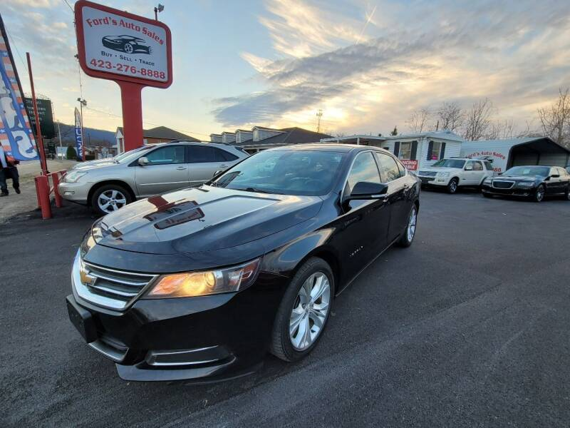 2014 Chevrolet Impala for sale at Ford's Auto Sales in Kingsport TN