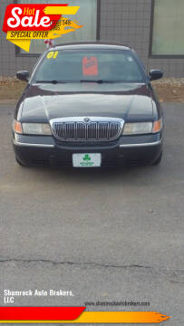 2001 Mercury Grand Marquis for sale at Shamrock Auto Brokers, LLC in Belmont NH