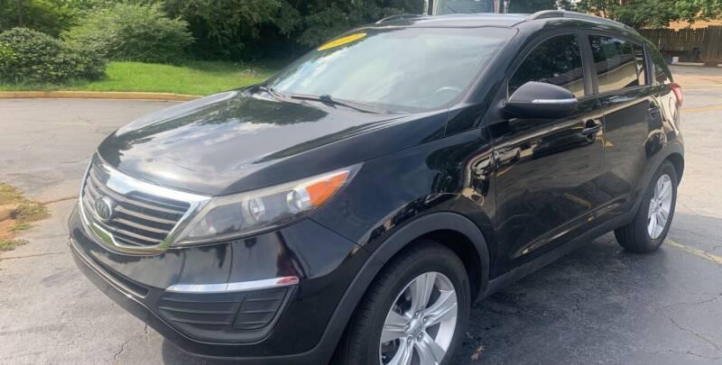 2012 Kia Sportage for sale at Peach Auto Sales in Smyrna GA