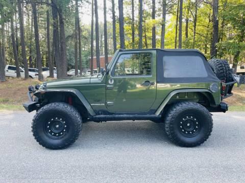 2008 Jeep Wrangler for sale at H&C Auto in Oilville VA