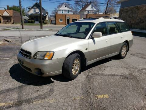 2001 Subaru Outback for sale at USA AUTO WHOLESALE LLC in Cleveland OH