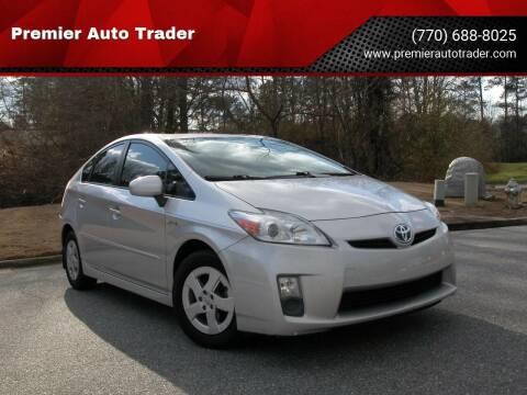 2011 Toyota Prius for sale at Premier Auto Trader in Alpharetta GA