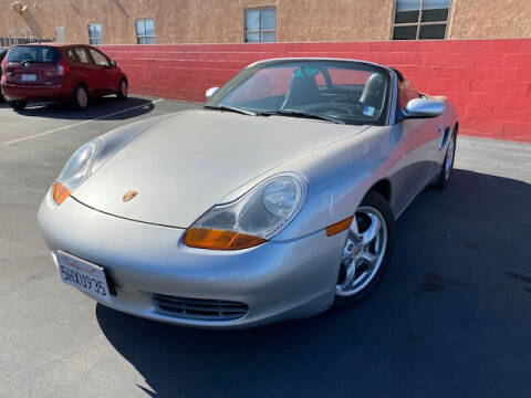 2001 Porsche Boxster for sale at CARSTER in Huntington Beach CA