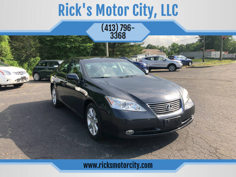 2009 Lexus ES 350 for sale at Rick's Motor City, LLC in Springfield MA