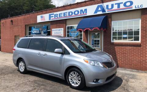 2013 Toyota Sienna for sale at FREEDOM AUTO LLC in Wilkesboro NC