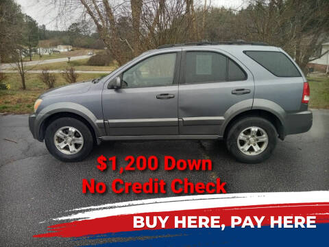 2006 Kia Sorento for sale at BP Auto Finders in Durham NC