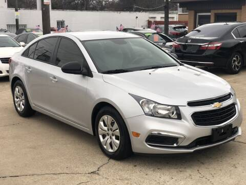 2016 Chevrolet Cruze Limited for sale at Safeen Motors in Garland TX