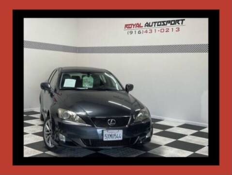 2007 Lexus IS 250 for sale at Royal AutoSport in Sacramento CA