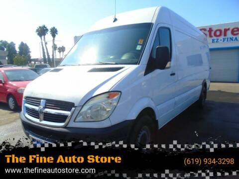 2007 Dodge Sprinter Cargo for sale at The Fine Auto Store in Imperial Beach CA