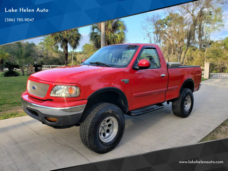 1999 Ford F-150 for sale at Lake Helen Auto in Lake Helen FL