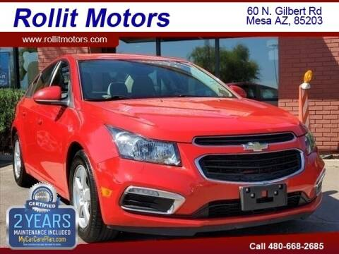 2016 Chevrolet Cruze Limited for sale at Rollit Motors in Mesa AZ