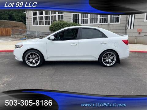 2013 Kia Forte for sale at LOT 99 LLC in Milwaukie OR