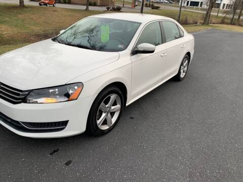 2013 Volkswagen Passat for sale at Augusta Auto Sales in Waynesboro VA