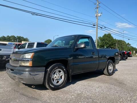 2004 Chevrolet Silverado 1500 for sale at 216 Auto Sales in Mc Calla AL