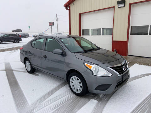 2018 Nissan Versa for sale at SCOTT LEMAN AUTOS in Goodfield IL